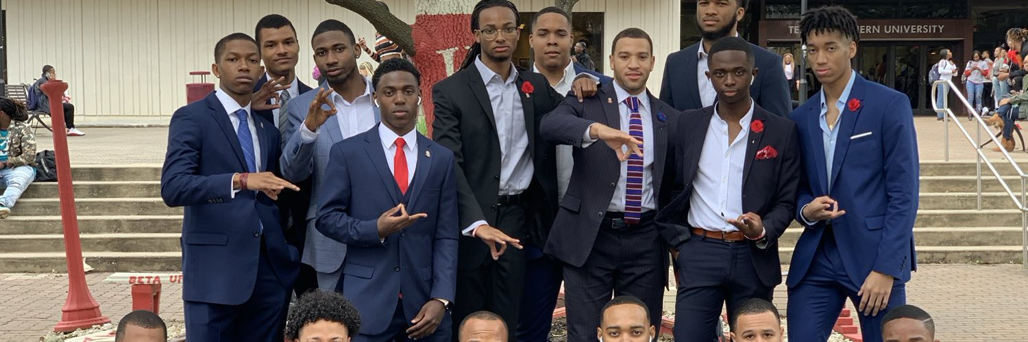 The Beta Upsilon chapter Of Kappa Alpha Psi Fraternity Inc. The Gangsta Nupes, Chartered March 15th 1947 at Texas Southern University.