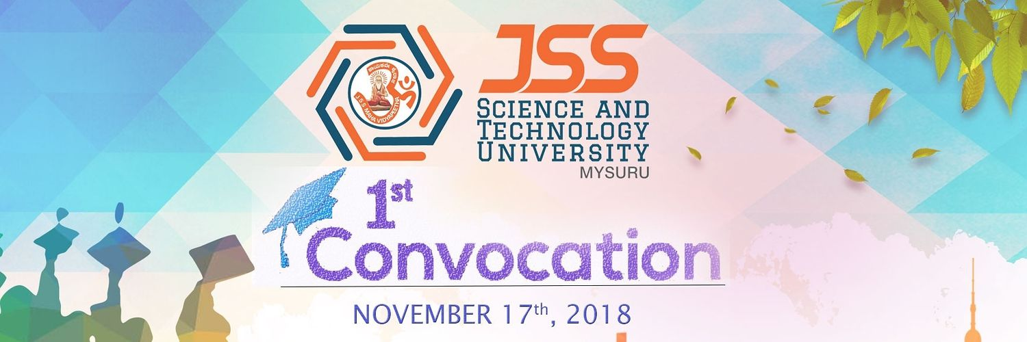 JSS Science and Technology University's official Twitter account