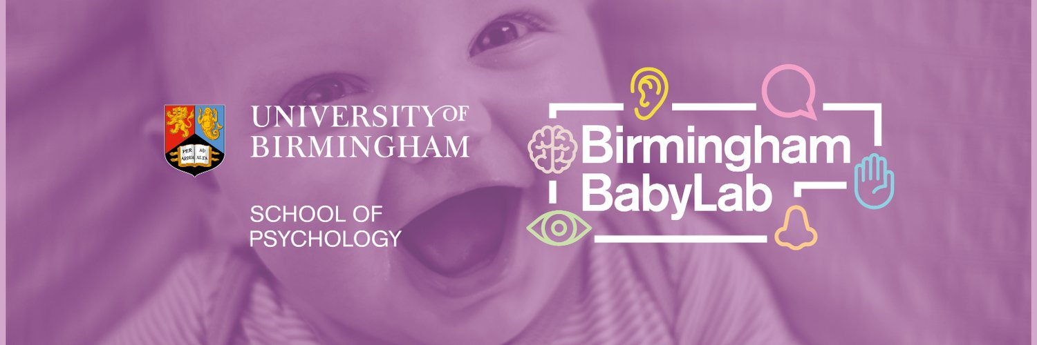 We are a research group within the School of Psychology at the University of Birmingham and we are interested in infants and toddlers' cognitive development.