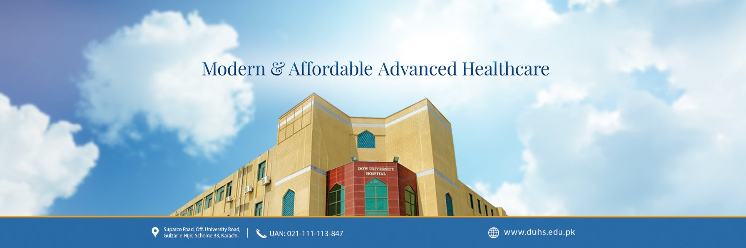 DOW University of Health Sciences's official Twitter account