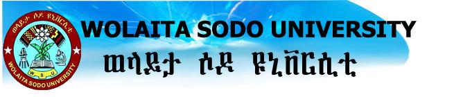 Wolaita Sodo University's official Twitter account