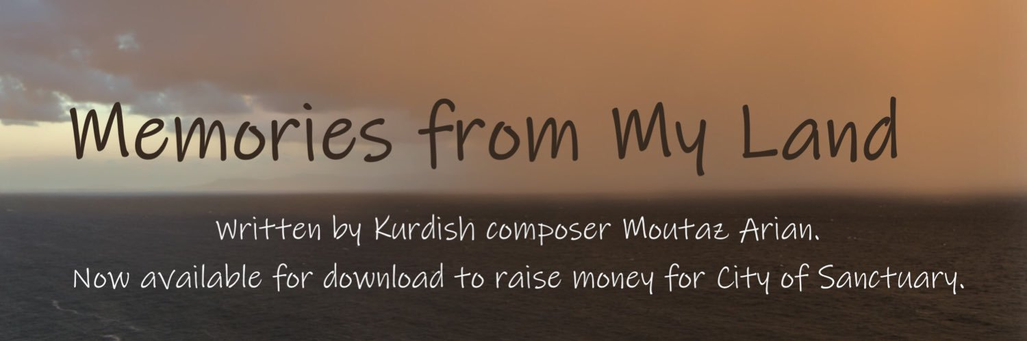 Launching today for #RefugeeWeek2019! 'Memories from my Land' was written for me by Kurdish composer Moutaz Arian t… twitter.com/i/web/status/1…