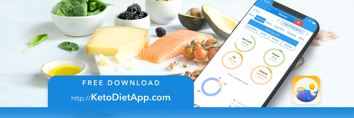 10x Cookbook author. App creator. Hashimoto's fighter. Helping people live a healthier life. 3K+ recipes & guides. Free KetoDiet App download👇