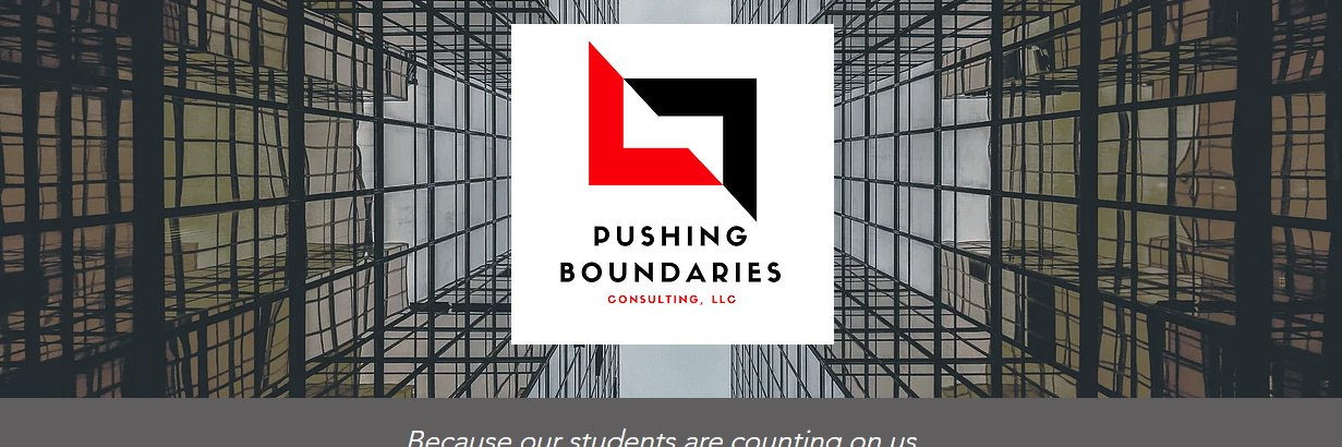 Boundaries will try to keep us from positive construction. BE the DESTRUCTION of the status quo! #pushboundEDU… https://t.co/yK1ADPYp0g