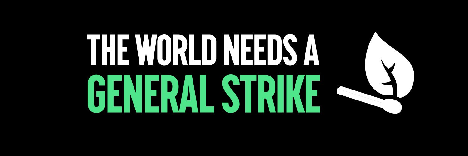 Our government is failing to #ActNow on the climate emergency so we are continuing to campaign for a workers' General Strike for Climate 🌍