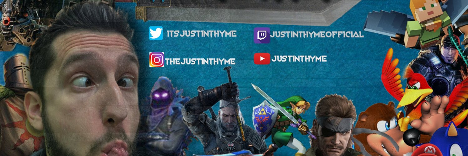Content Creator, Gamer, Entertainer, Lover of fine linens. Twitch: JustinThymeOfficial Team: @TheTeamSaw YouTube: JustinThyme Instagram: TheJustinThyme