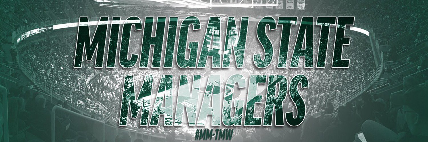 The Official Account of the Michigan State Men's Basketball Managers. MM-TMW.