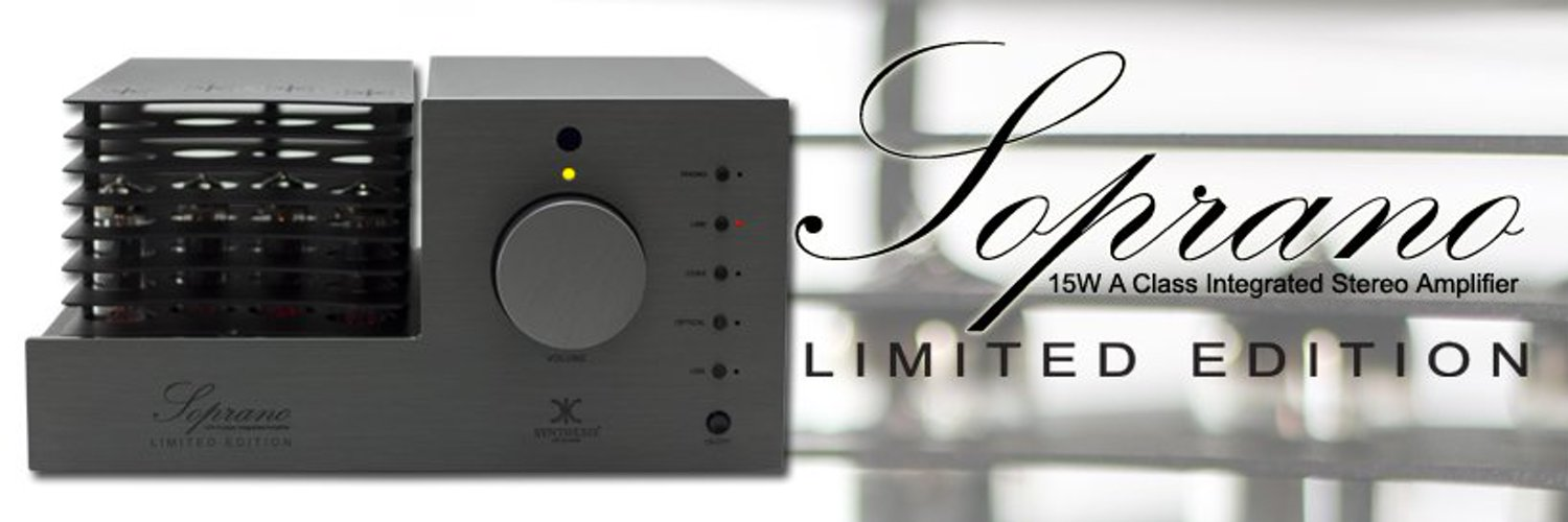 Hi Fi products Made in Italy since 1992 Visit us on Facebook: facebook.com/SynthesisArtIn…