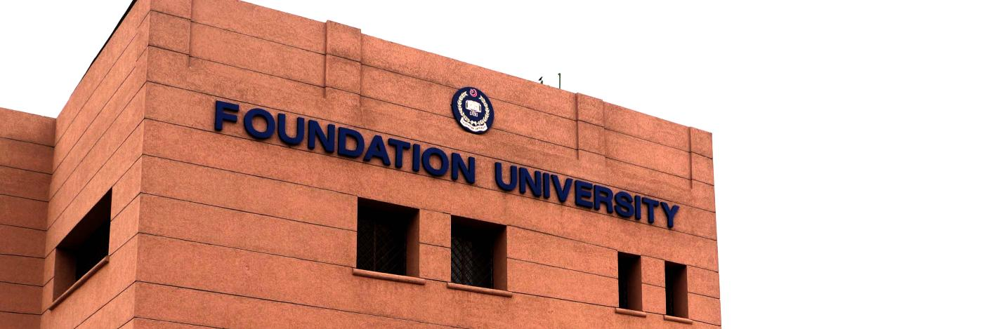Foundation University Islamabad's official Twitter account