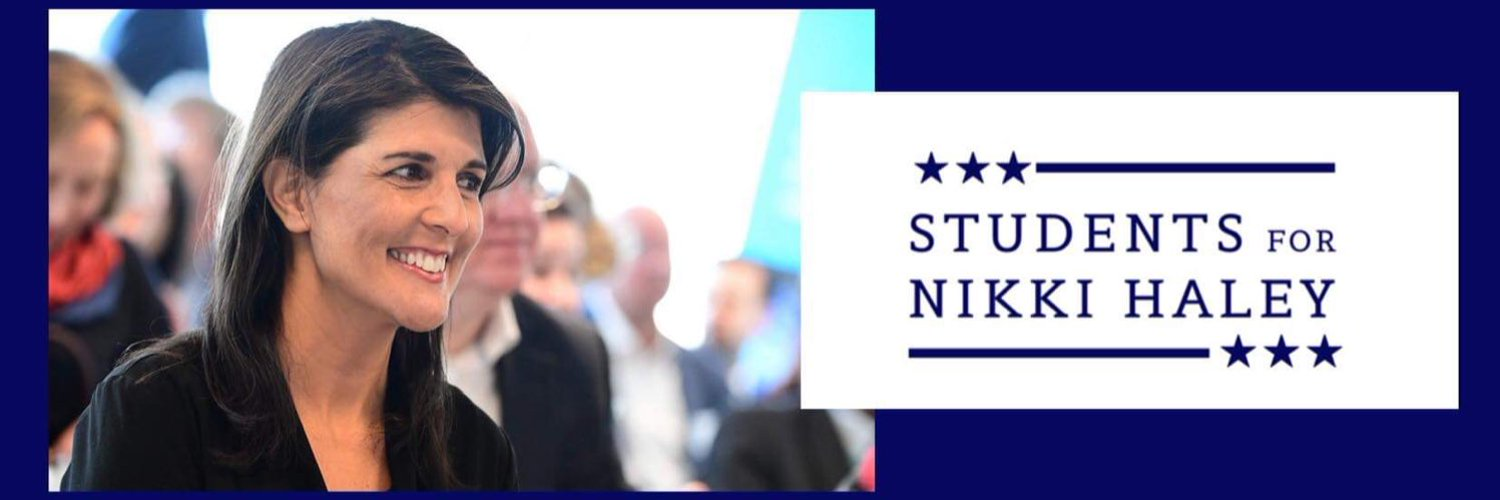 The official twitter account for Students for Nikki Haley. we are a nation wide coalition of college students that Support Nikki Haley.