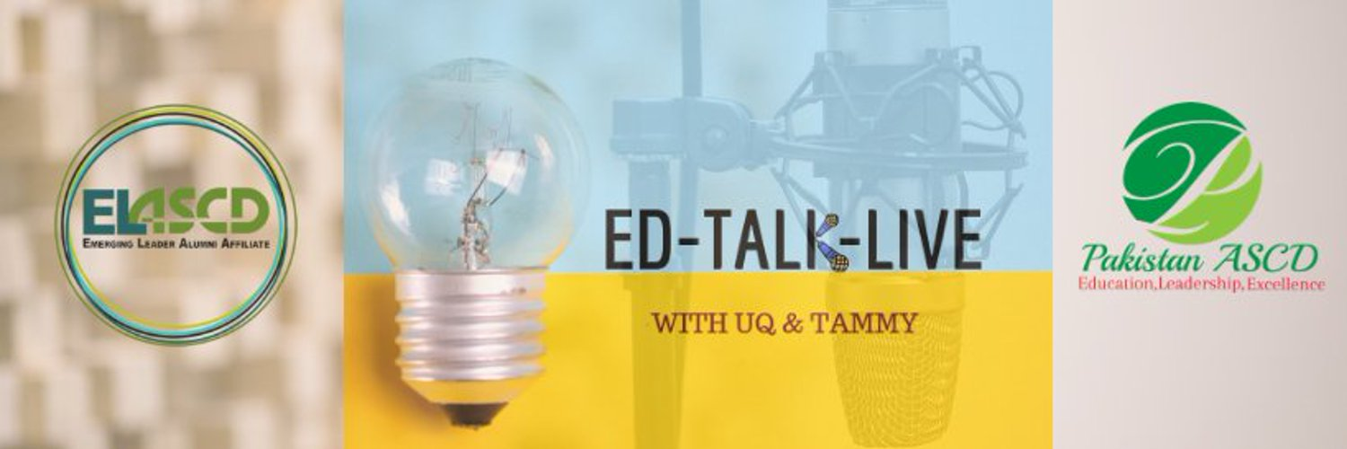 A joint ASCD Affiliate show on topics in education. Just us Sundays live on Facebook. Recordings on our YouTube channel. youtube.com/channel/UCvJKC3
