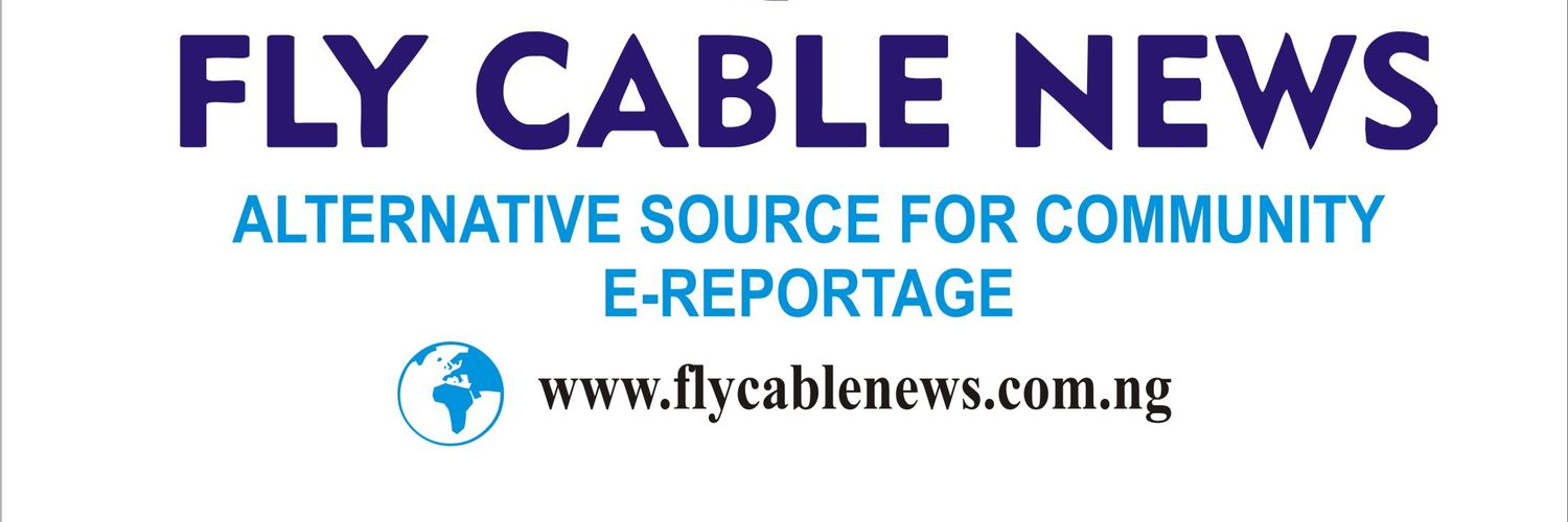 Official Twitter page of Flycable News online media platform for community reportage for the voice of voiceless. +2349082036352.