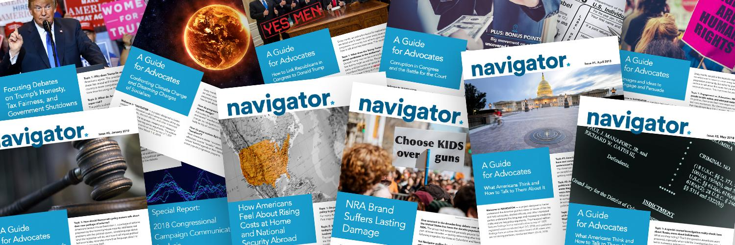 Helping shape the debate for progressives on the issues that matter most for Americans. #NavigatorResearch