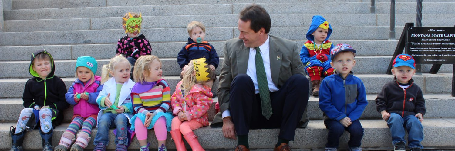 Husband. Father of three. Runner. Montana's 24th Governor.