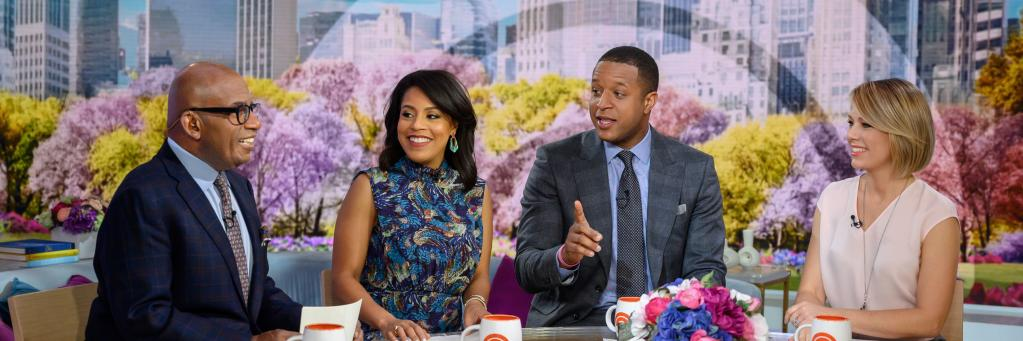 .@craigmelvin, @dylandreyernbc, @alroker and @sheinellejones share photos that mean a lot to them as part of the… https://t.co/VPy7lZEgZJ