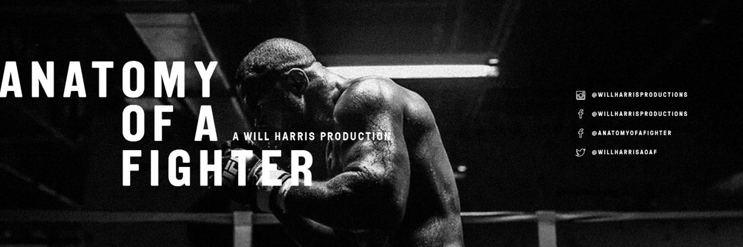 This is the NEW official page for Anatomy of a Fighter created by Will Harris Productions. @Willharrisproductions on Instagram