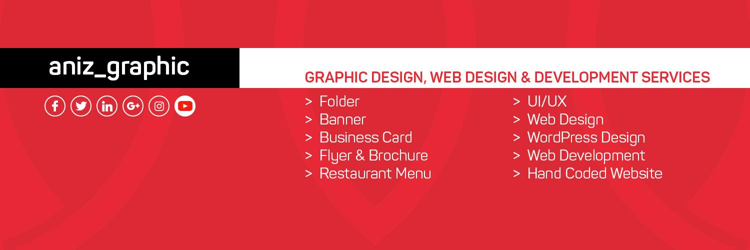 My Name is Anisur Rahman. I'm very interested in graphics design, expertise in Print Design, Branding Identity Design and Packaging Design. Thanks :)