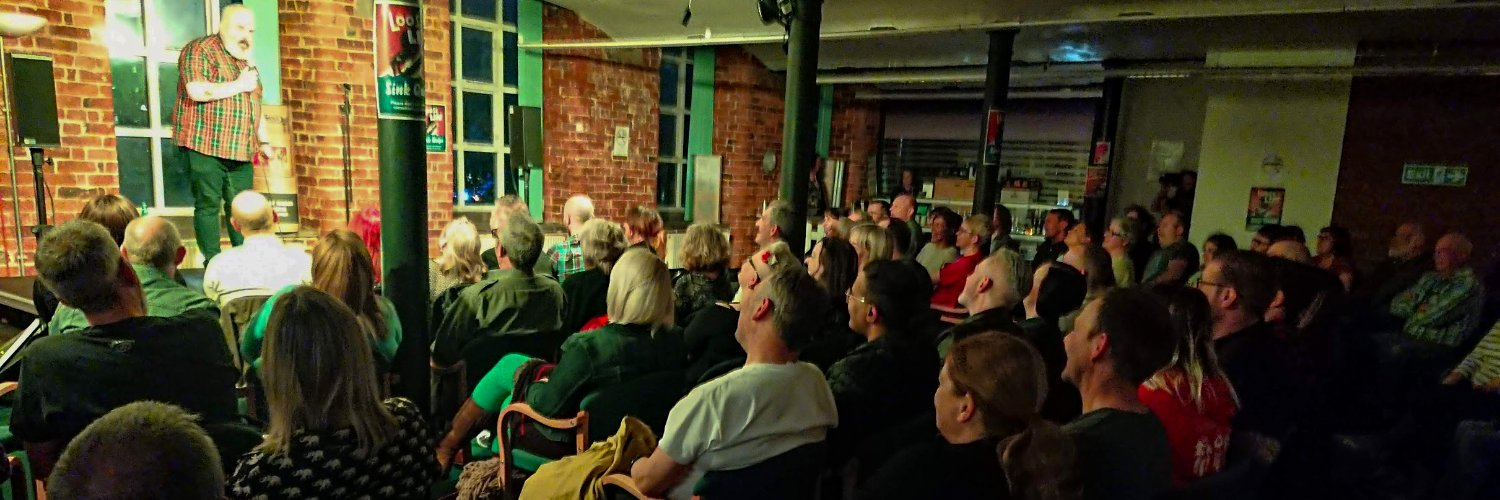 Venue-fluid comedy club. Live stand-up comedy in the heart of Stockport! Back in 2020.