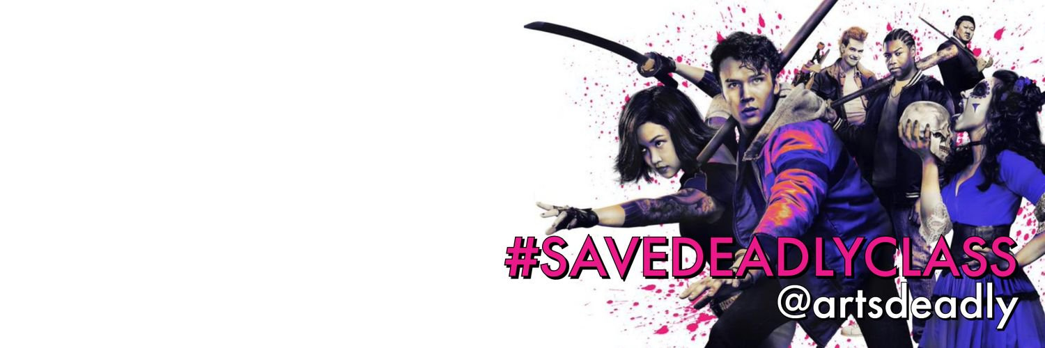 Join us #SaveDeadlyClass!