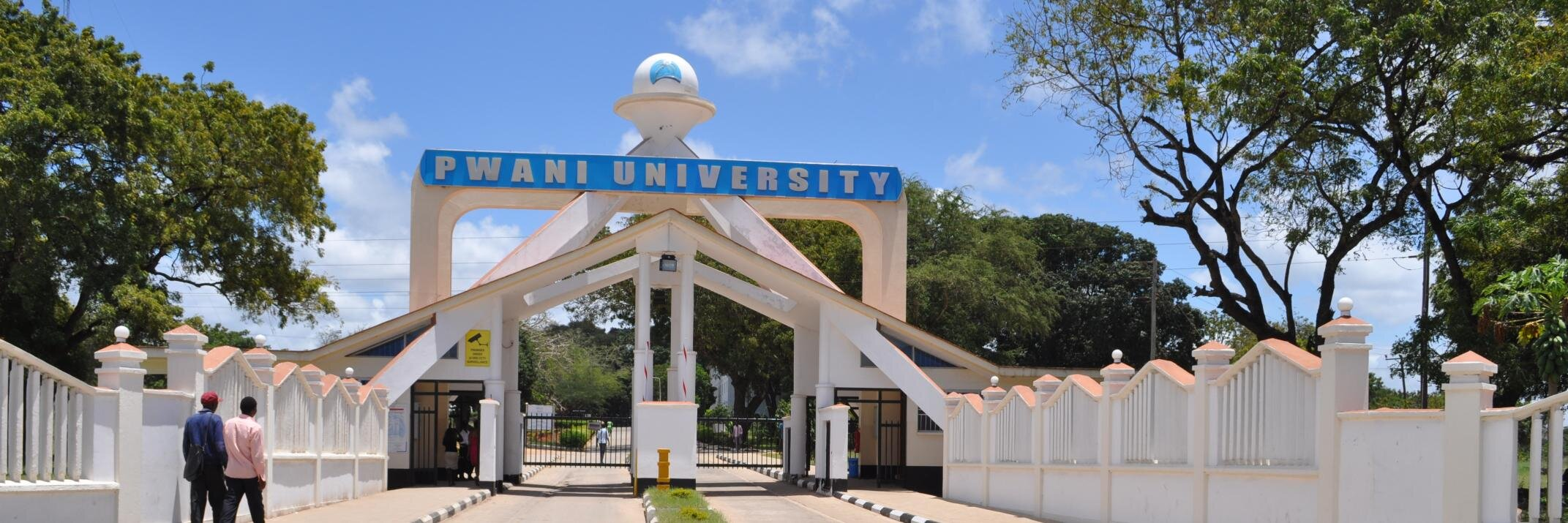 Pwani University's official Twitter account