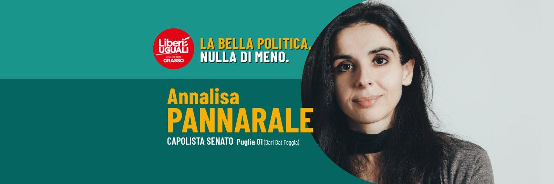 On. ANNA LUCIA LISA PANNARALE Onorevole della Camera dei Deputati