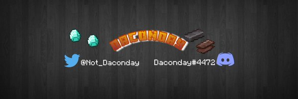 ⍝ Daconday ⍝ Profile Banner