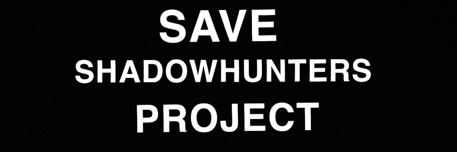 Any lawyers in the Shadowfam? DM us or @saveSHAlliance if so for more details why we want to know 😂 #SaveShadowhunters