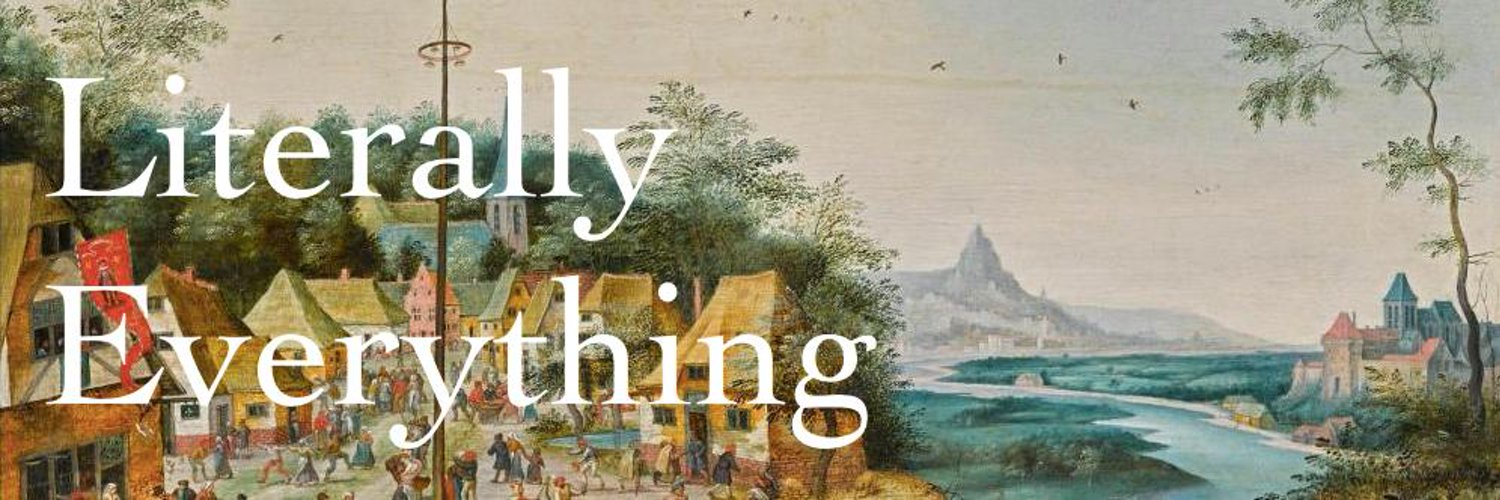 A podcast about everything that matters. Politics, culture, history, and literary criticism. With @ethpack and @huge_reality.