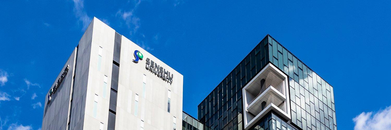 Senshu University's official Twitter account