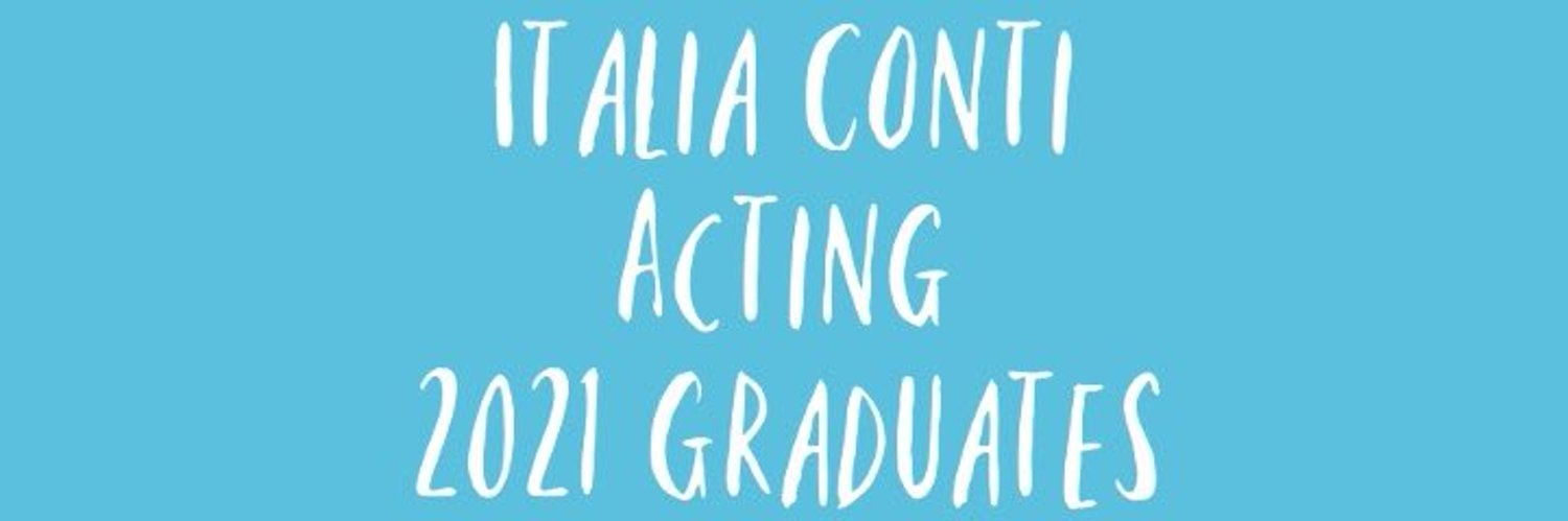 Keeping you up to date with the 2021 Italia Conti Graduates.