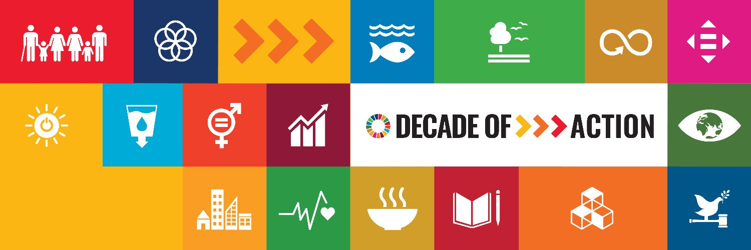 Official @UN Twitter account for the #GlobalGoals for Sustainable Development. Let's make these next 10 years a Decade of Action.
