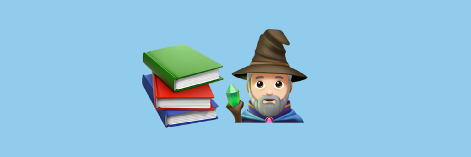 A wizard who loves books and writing. All genres, all formats, all books.