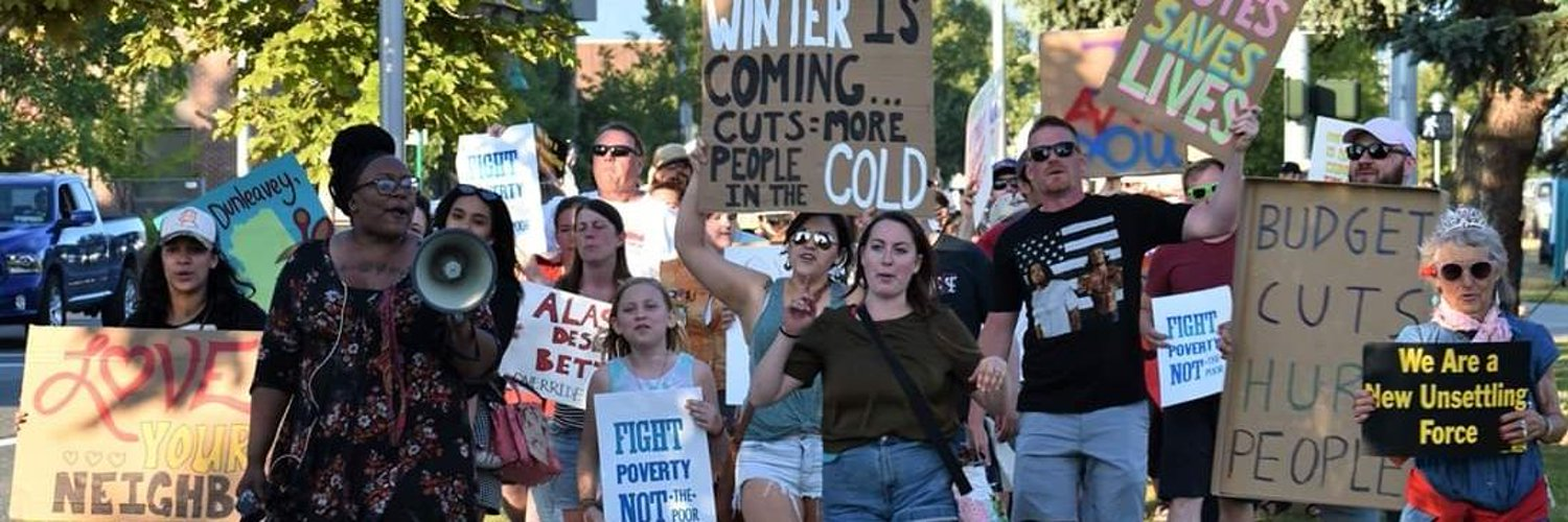 Buliding a movement in Alaska to overcome systemic poverty, systemic racism, the war economy, ecological devastation, poverty, and our distorted moral narrative