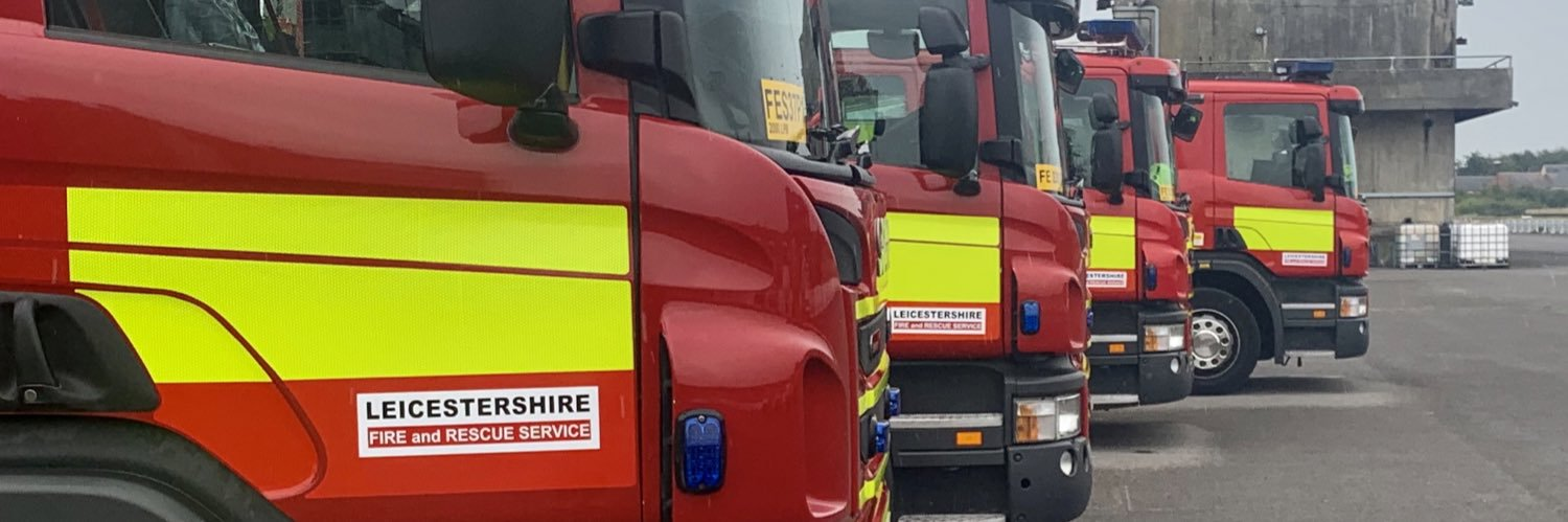 Such shocking and awful news. From all at @LeicsFireRescue Our thoughts go to the officers family, loved ones, fr… https://t.co/d3CDYZmobJ