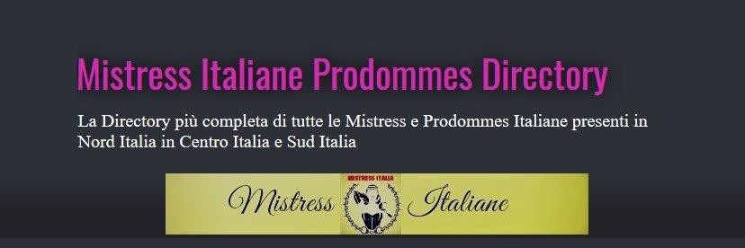 ♀️ MISTRESS ITALIANE