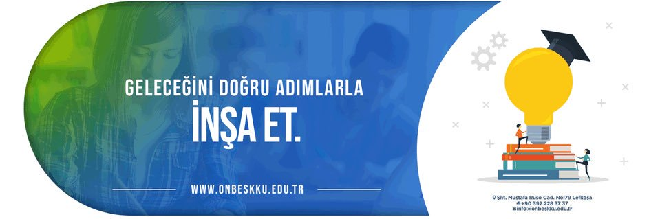 Onbes Kasim Kibris Üniversitesi's official Twitter account