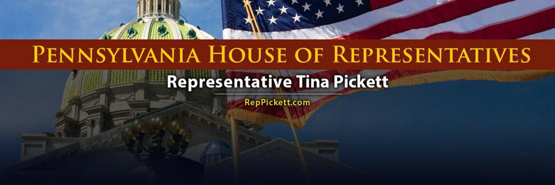 PA State Rep. Tina Pickett (R-Bradford/Sullivan/Susquehanna). Serving the citizens of the 110th Legislative District. Chairman of #PAHouse Insurance Committee.