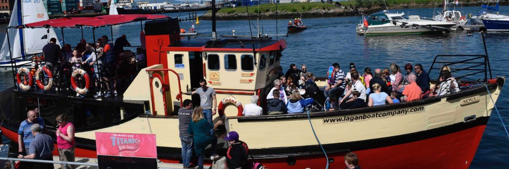 Sailing tomorrow are at 12.30, 2.00 and 3.30pm - ps the seals are back in town! @ACHotelBelfast @BelfastHarbour… https://t.co/EfdA4nUPrK