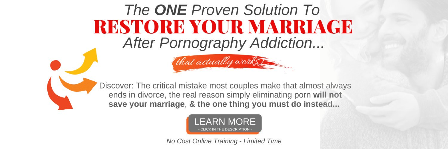 I help couples who have been impacted by porn addiction heal, and restore their marriage (for good), so you can have the relationship you've always dreamt of.