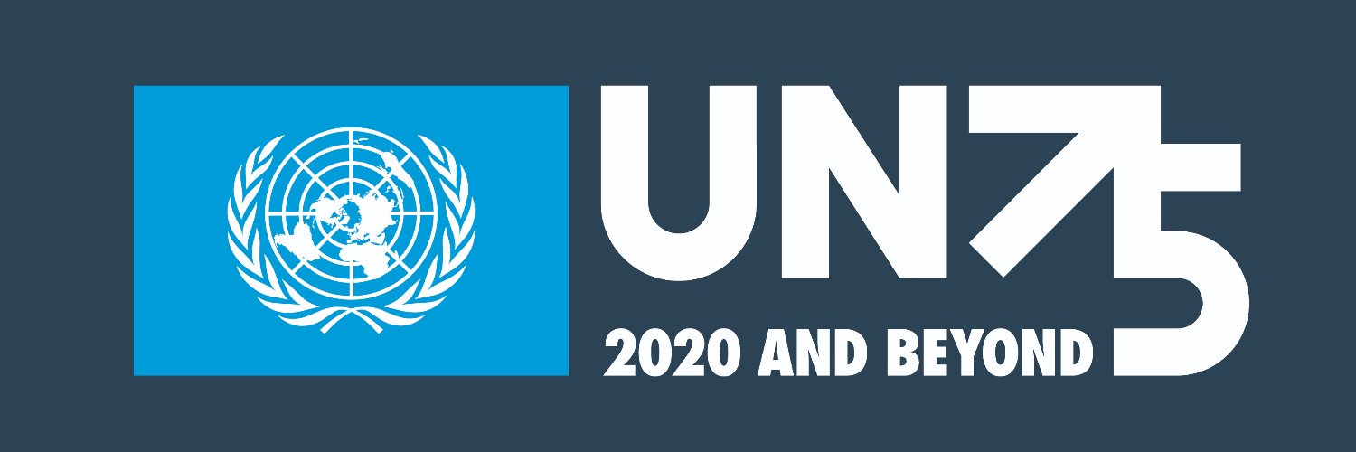 To mark the 75th anniversary of the @UN: #UN75, the biggest-ever 🌍 conversation on the future we want. Have YOUR say 👇