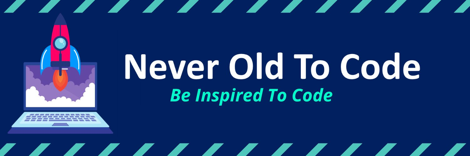 Never Old To Code