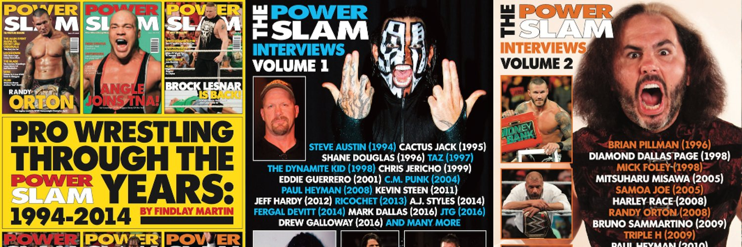 Inside The Ropes podcaster, author of the Power Slam eBook series and contributor to WrestleTalk Magazine.