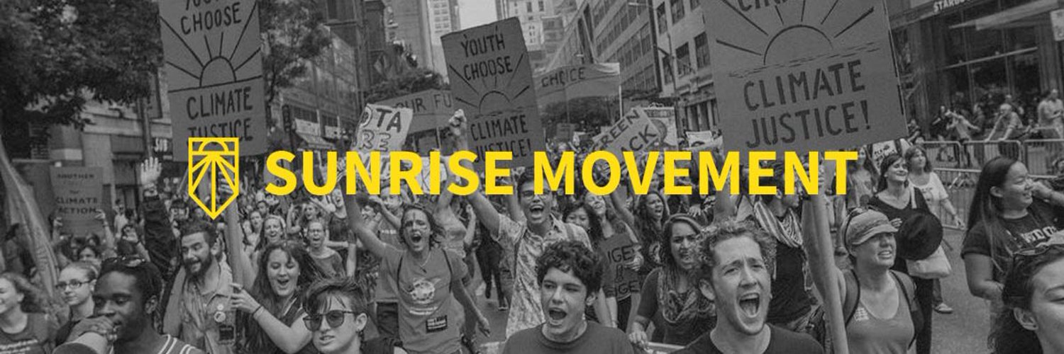 Chicago suburbs hub of @sunrisemvmt . Building a movement of young people uniting to fight the climate crisis