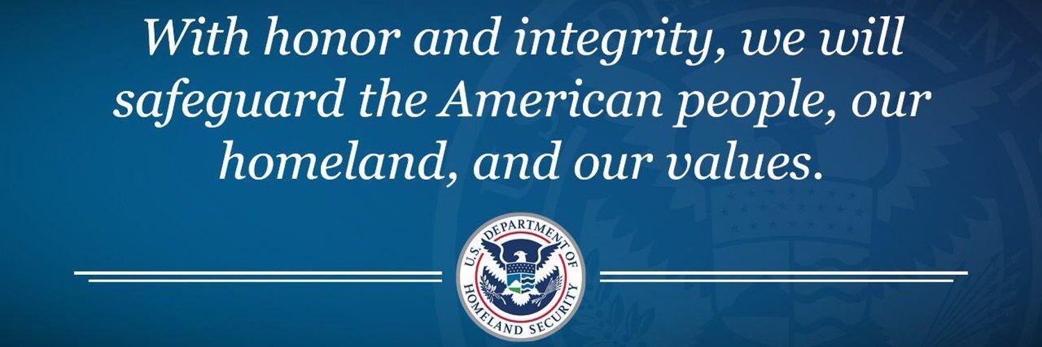 Acting Secretary of the Department of Homeland Security. Follow DHS at @DHSgov