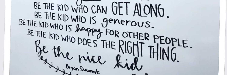 Spreading Kindness at Wickliffe High School