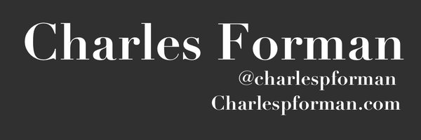 Charles Forman Profile Banner