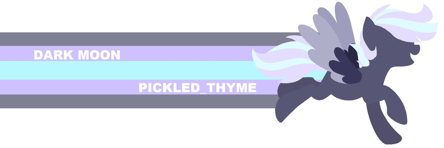 ✨ 🇸🇪 | 🇩🇪 | 🇬🇧 • 1 9 — ♀ ➡ PickledThyme_#5543 • #mylittlepony ➡ Dismantled Game AU Vent Acc : @VentShadow