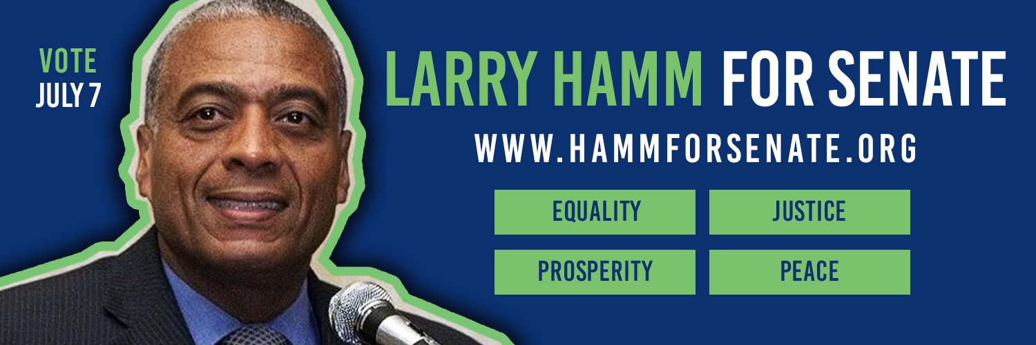 Fighting for social justice & peace. Founder of POP. US Senate Candidate. NJ State Chair for @Berniesanders. #NotMeUs! Donate: bit.ly/donatehamm