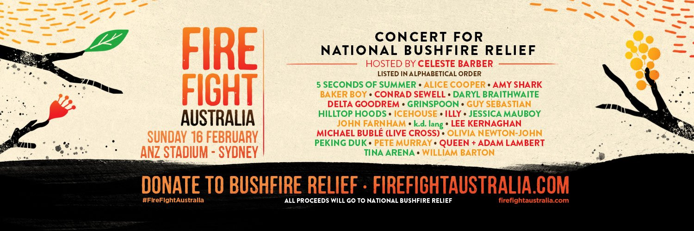 🙌 Thank you Australia! 🧡 #FireFightAustralia themusic.com.au/news/fire-figh…