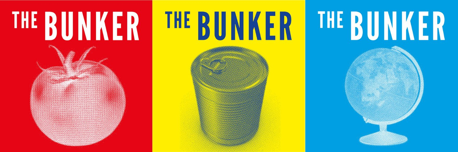 Politics, locked down. THE BUNKER. From Podmasters, the producers of @RemainiacsCast